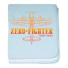 ZEROFIGHTER4 baby blanket