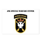 SSI - JFK Special Warfare Center with Text Postcar