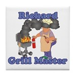 Grill Master Richard Tile Coaster