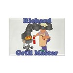 Grill Master Richard Rectangle Magnet