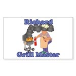 Grill Master Richard Sticker (Rectangle)