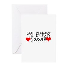 Cute Get well Greeting Cards (Pk of 10)