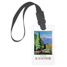 Kashmir Travel Poster 1 Luggage Tag