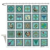 Celtic Sampler Shower Curtain