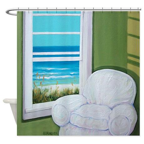 Filename:  Window_sea_beach_art_shower_curtain?coloru003dWhiteu0026heightu003d460u0026widthu003d460u0026qvu003d90