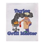 Grill Master Taylor Throw Blanket