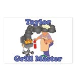 Grill Master Taylor Postcards (Package of 8)