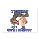 Grill Master Timothy Postcards (Package of 8)