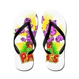 Popcorn Pigs Flip Flops