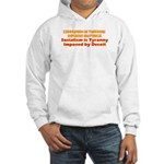 Communism and Socialism Hooded Sweatshirt