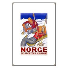 Norway Travel Poster 1 Banner