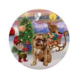 Treat for a Brussels Griffon Ornament (Round)