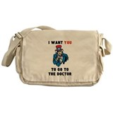 Obamacare: Uncle Sam Messenger Bag