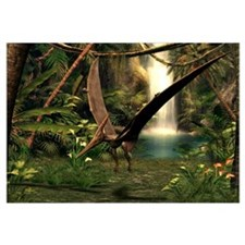 Pteranodon pterosaur, artwork