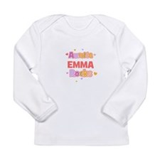 Cute Nephew Long Sleeve Infant T-Shirt