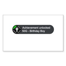Birthday Boy (Achievement) Decal