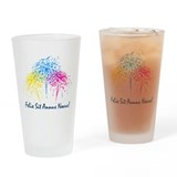 &quot;&quot;Happy New Year&quot; (Latin) Drinking Glass