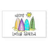 I Surf Long Island Decal