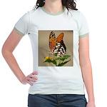 Butterfly Jr. Ringer T-Shirt