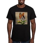 Butterfly Men's Fitted T-Shirt (dark)