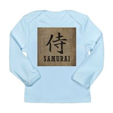 Vintage Samurai Long Sleeve Infant T-Shirt
