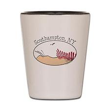 Southampton NY Shot Glass