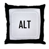 ALT (centered) Throw Pillow