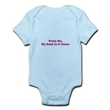Cute Trust me nurse Infant Bodysuit