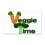 VeggieTime Rectangle Car Magnet
