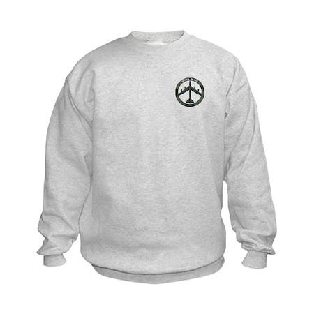 B-52 Peace Sign Kids Sweatshirt