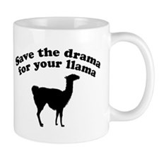 Save the Drama for your Llama Mug
