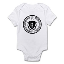 Vintage Massachusetts Seal Infant Bodysuit
