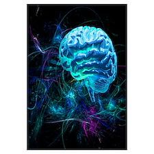 Brain research, conceptual artwork