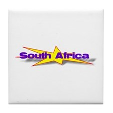 South Africa Goodies Tile Coaster