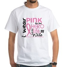 Hero In Life 2 Breast Cancer Shirt