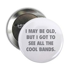 "All The Cool Bands 2.25"" Button (10 pack)"