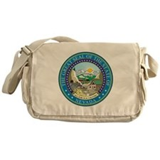 Nevada State Seal Messenger Bag
