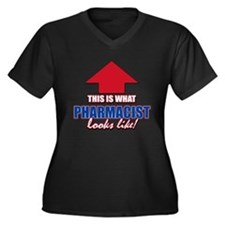 This is what Pharmacist looks like Women's Plus Si