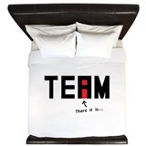 There's an I in TEAM King Duvet
