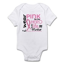 Hero In Life 2 Breast Cancer Infant Bodysuit