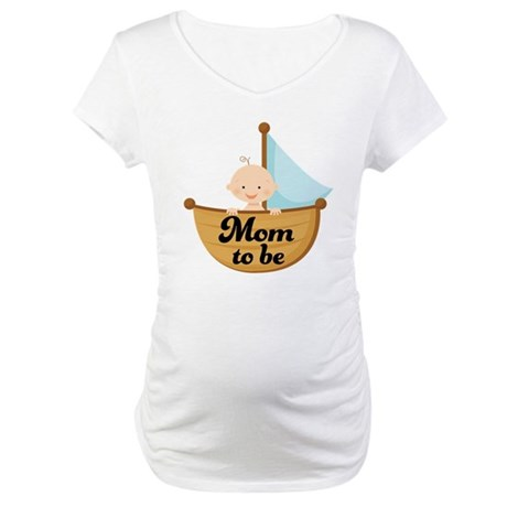 Mom To Be Pregnancy Announcement Maternity T-Shirt