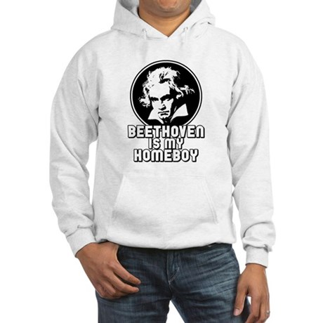 Beethoven is my Homeboy Hooded Sweatshirt