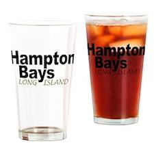 Hampton Bays LI Drinking Glass