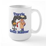 Grill Master Travis Large Mug