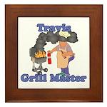 Grill Master Travis Framed Tile