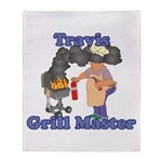 Grill Master Travis Throw Blanket