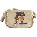 Grill Master Tristan Messenger Bag