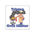 Grill Master Tristan Square Sticker 3