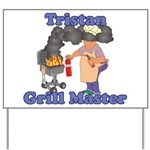 Grill Master Tristan Yard Sign