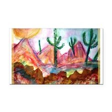 Desert! Southwest art! Rectangle Car Magnet